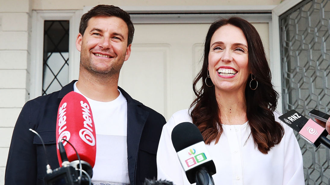 New Zealand PM Jacinda Ardern and Clarke Gayford announcing her pregnancy